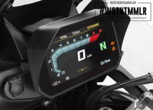 TFT-Display Blendschutz für unseren Wüstentümmler - R 1250 GS #wstntmmlr